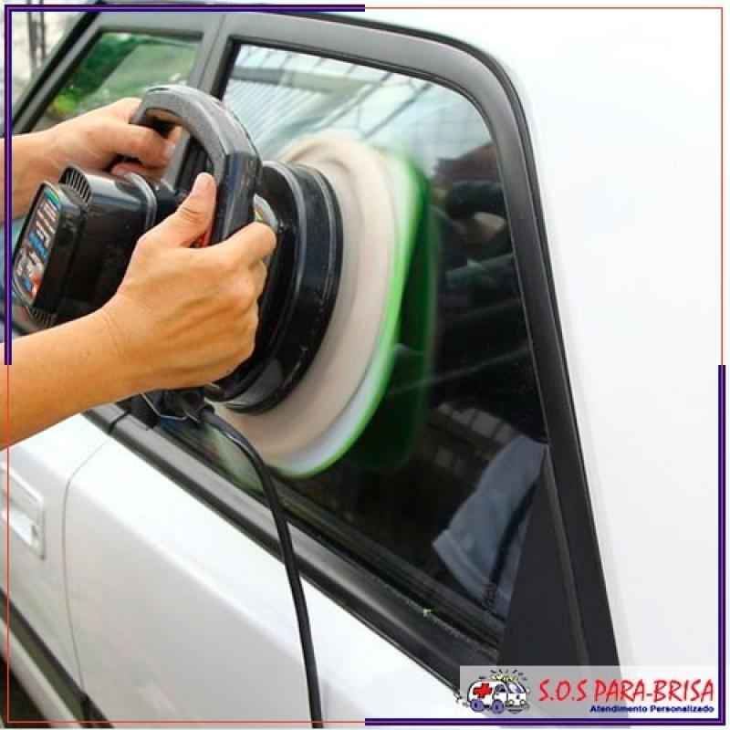 Polimentos de Vidros a Domicílio Água Branca - Polimento em Vidros de Carro Pequena