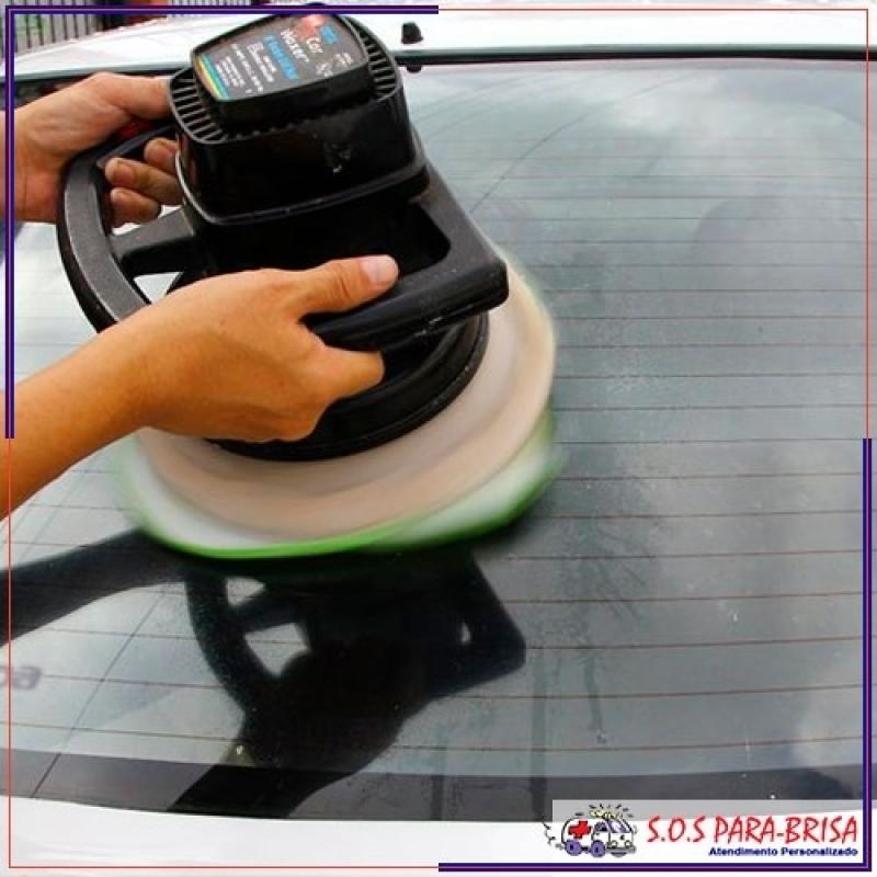 Preço de Polir Vidro para Tirar Riscos Lapa - Polimento no Vidro Automotivo