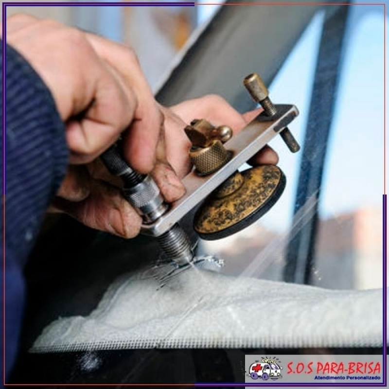 Serviço de Conserto de para Brisa Trincado Brasilândia - Conserto em Parabrisa