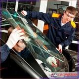 polimento em vidro de carro importado