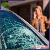 polimento em vidro de carro médio