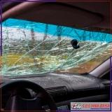 polimento em vidro de carro