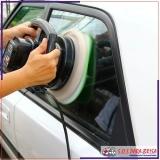 polimento no vidro automotivo