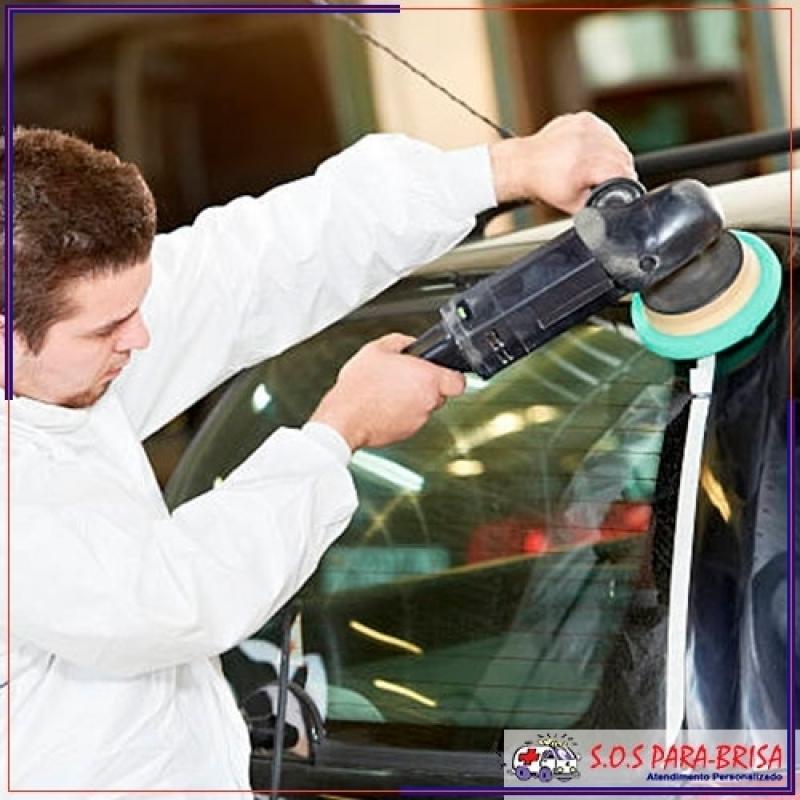 Valor de Polimento no Vidro Automotivo Morumbi - Polir Vidro para Tirar Riscos